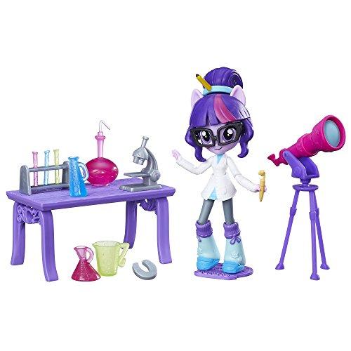 Rainbow Star Sparkle - My Little Pony Equestria Girls Minis Twilight Sparkle Science Star Class Set