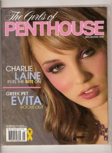 The Girls Of Penthouse Charlie Laine Greek Pet Evita July August 2007 Amazon Com Books