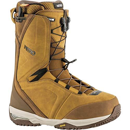 Nitro Team TLS Snowboard Boot - Men's Two Tone Brown, 13.0 - Nitro Snowboarding Boots