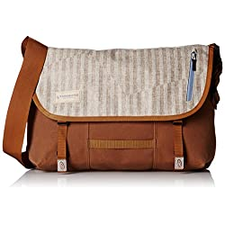 Timbuk2 Dashboard Laptop Messenger Bag, Beige, Medium