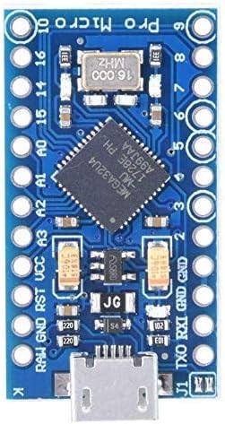16M Microcontroller Development Board with pins Compatible with Arduino IDE 1.0.3 Bootloader Replace Pro Mini Nobrand Pro Micro ATmega32U4 5V