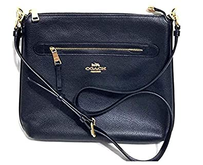 1fb02010 Coach Mae Crossbody Pebble Leather Bag