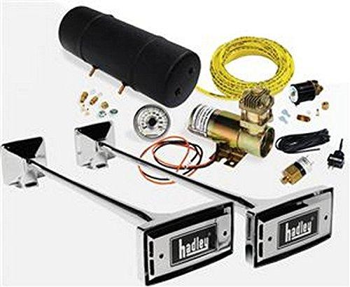 Hadley RV Trailer Horns Ambassador Air Horn Kit Air Horn (Horn Parts Hadley Air)