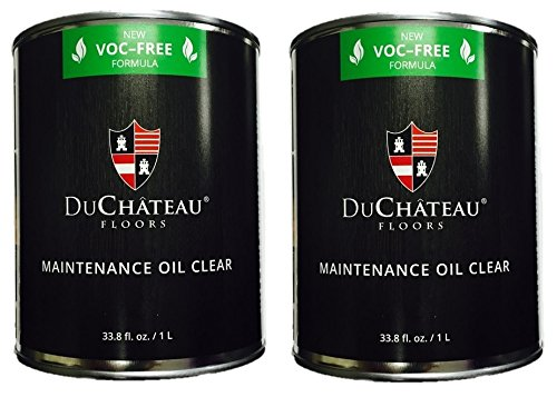DuChateau Floors Maintenance Oil Clear 1 Liter (Pack of 2) by DuChateau