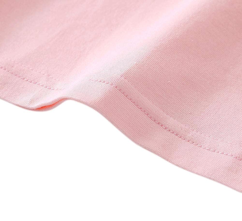 Tortor 1Bacha Girls Long Sleeve Undershirt Cotton Crew Neck T-Shirts Top Tees