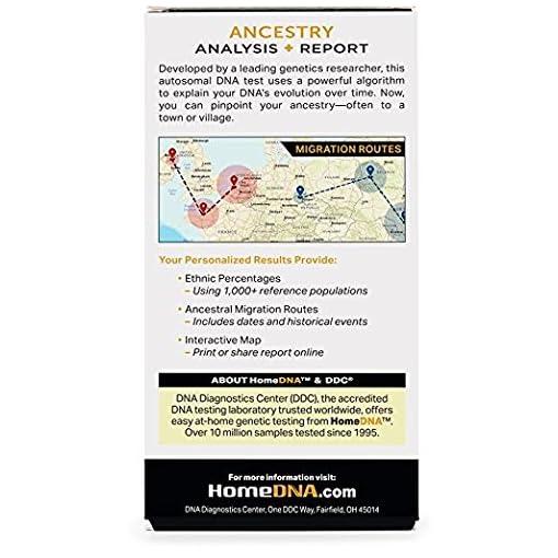HomeDNA Ancestry Test Kit — Hot Deals of Arsouk