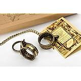 3d5144ef04b7 Reloj de sol HELIOS anillo solar de acero inoxidable - anillo y ...