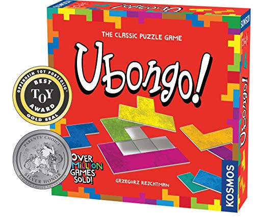 Thames & Kosmos Ubongo - Sprint to Solve The Puzzle | Family Friendly Fun Game | Highly Re-Playable | Quality Components (Made in Germany) (Best German Board Games)