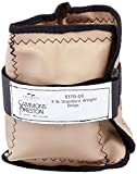 Sammons Preston Cuff Weight, 6 lb, Beige, Strap & D-Ring Closure, Grommet for Easy Hanging, Steel Ankle & Wrist Weights are Lead Free, Exercise Tool for Strength Building & Injury Rehab