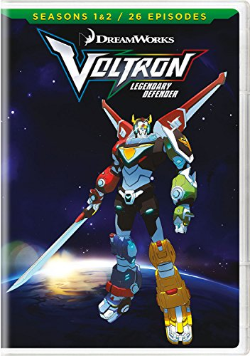 DVD : Voltron: Legendary Defender - Seasons 1 & 2 (Boxed Set, 4PC)