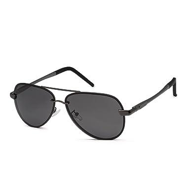 8432347c66 Aviator Sunglasses WISH CLUB polarized sunglasses Men s Retro Designer  Shades UV400 Lens Outdoor Unisex Sun Glasses