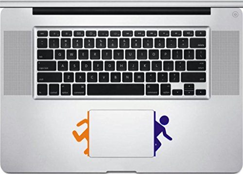 Portal Decal- Decal Sticker for MacBook, Air, Pro All Models (Portal Computer Decal)