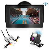 Wireless Backup Rear View Camera - Waterproof Car Parking Rearview Reverse Safety/Vehicle Monitor