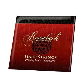 Roos ebeck Harp - Juego de 29 cuerdas C - C: Amazon.es ...