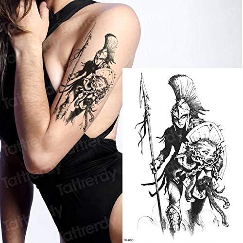 tzxdbh Patrón de Manga del Tatuaje Samurai bocetos diseños de ...