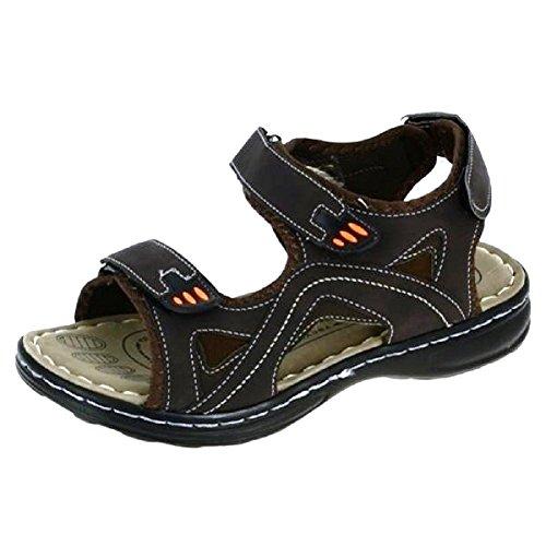 Herren Outdoor Sandalen Sandaletten braun