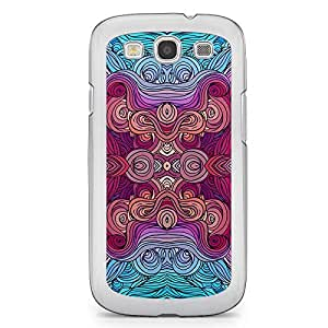 Hairs Samsung Galaxy S3 Transparent Edge Case - Design 17