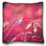 img - for Generic Personalized ( Nature Red Leaves ) Pillowcase Cover 16