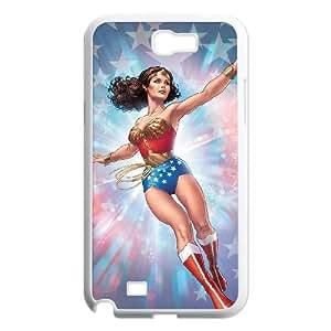 Custom Phone Case YU-TH91820 for Samsung Galaxy Note 2 N7100 w/ Wonder woman by Yu-TiHu(R)