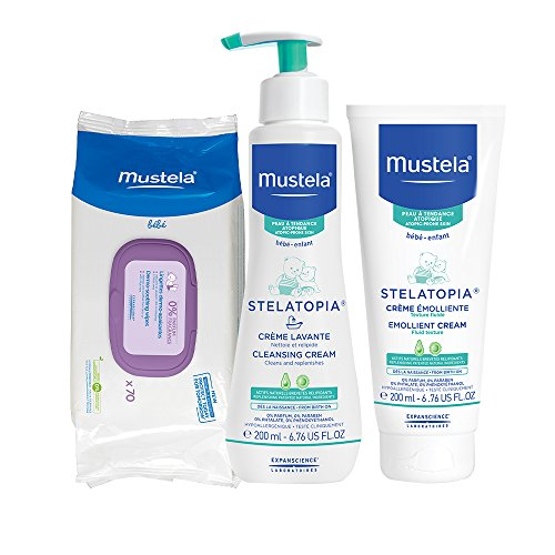 Mustela Eczema Essentials Bundle Products
