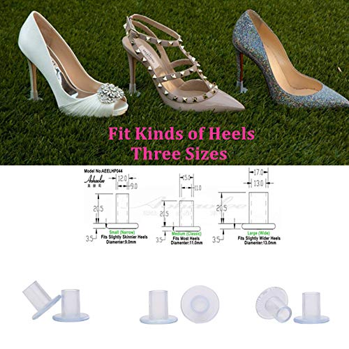 0fe709404a Rubber heel stoppers High heel protectors stiletto heel tips protect covers  for dirty,damage,sinking in grass