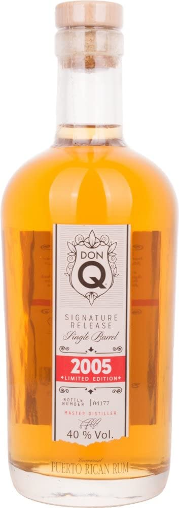 Don Q Ron Q Single Barrel 2005 40º - 700 ml