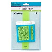 Cuttlebug 2001294 Embossing Folder, Bit of Paisley, 5-Inch by 7-Inch