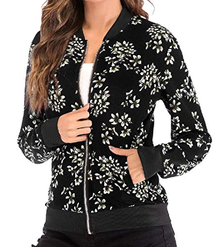 Casual Pockets Jersey Jacket Women 11 with Digital Slim Howme Print gAn4IwPWq