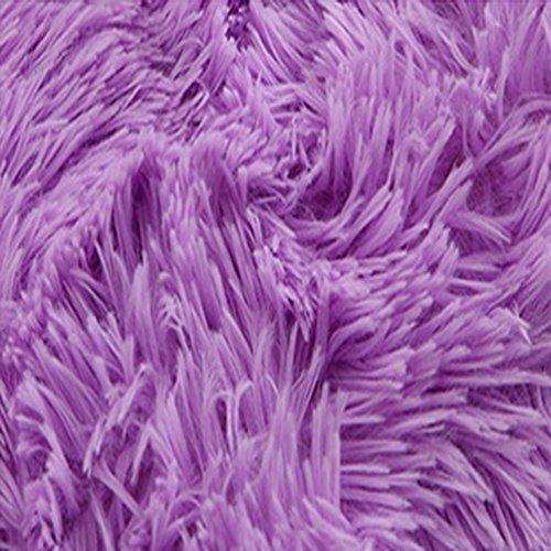 Rug WAN SAN QIAN- Children Bedroom Carpet Living Room Carpet Sofa Europe Princess Rectangle Thicker (Color : Purple, Size : 120x160cm) by Rug (Image #1)