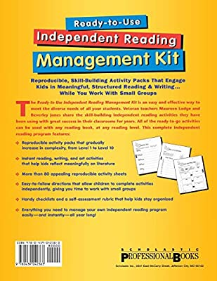 READY-TO-USE INDEPENDENT READI: Reproducible, Skill-Building Activity Packs That Engage Kids in Meaningful, Structured Reading & Writing . . . While You Work with Small Groups: Amazon.es: Jones, Beverley, Lodge, Maureen, Beverley, Jones:
