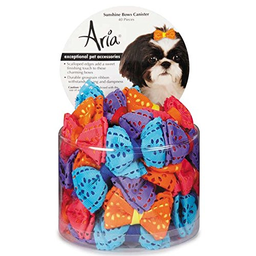 - Aria 40 Piece Sunshine Dog Bow Canister