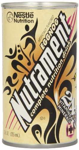 Energy and Fitness Drink, , 12 Ounce Cans (Pack of 12), Eggnog -