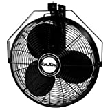 Air King 9518 18-Inch Industrial Grade Wall Mount Fan, 1/6-Horsepower
