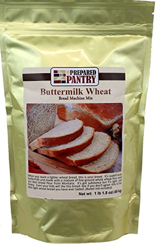 The Prepared Pantry Buttermilk Wheat Bread Machine Mix, 71.2 Ounce -