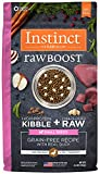 nature best dog food - Instinct Raw Boost Small Breed Grain Free Recipe with Real Duck Natural Dry Dog Food by Nature's Variety, 4 lb. Bag