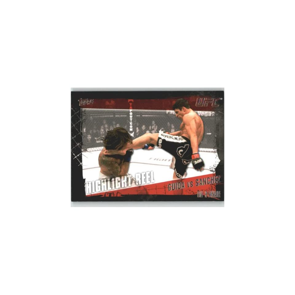 UFC Trading Card # 181 Clay Guida vs Diego Sanchez (Ultimate Fighting