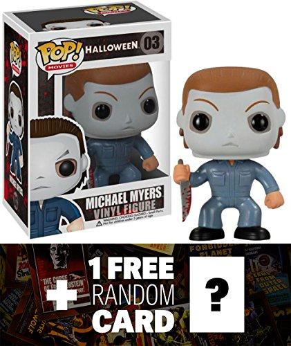 nknown Michael Myers: Funko POP! Horror Movies x Halloween Vinyl Figure + 1 FREE Classic Sci-fi & Horror Movies Trading Card Bundle -