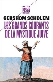 Book Les grands courants de la mystique juive
