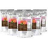 Legacy Essentials Freeze Dried Peaches - 15 Year Shelf Life for Emergency Prepper Food Storage Supply - Bulk Ingredients (Quantity 6 In Bucket)