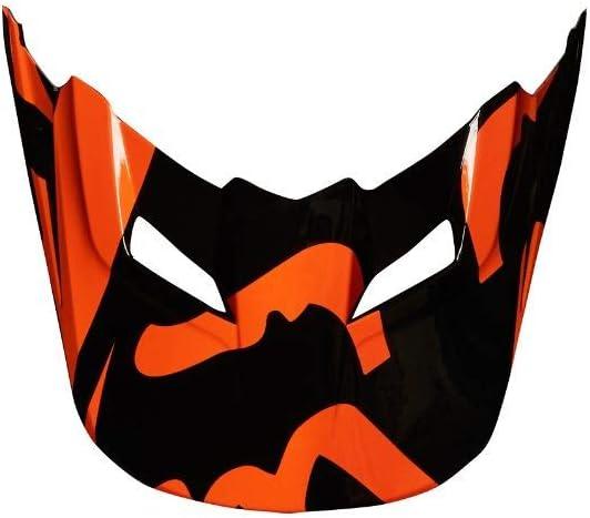 FOX Helmschild V1 Race Orange