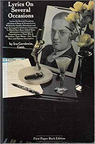 Gratis lydbøger download til ipod Lyrics on Several Occasions: Gershwin Lyrics 0860015475 by Ira Gershwin in Danish PDF CHM