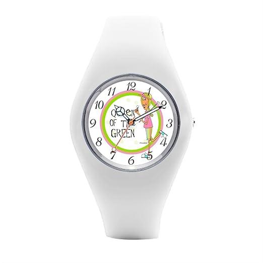 Para mujer para hombre muñeca relojes Marcas Cute goma reloj: Amazon.es: Relojes