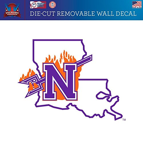 Victory Tailgate Northwestern State University of Louisiana Demons Removable Wall Decal Logo 1 (Approx 36x36)