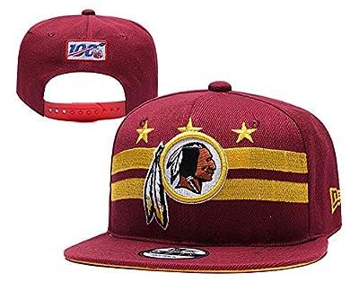 Looc Unisex Structured Adjustable Hat Washington Redskins Snapback Cap