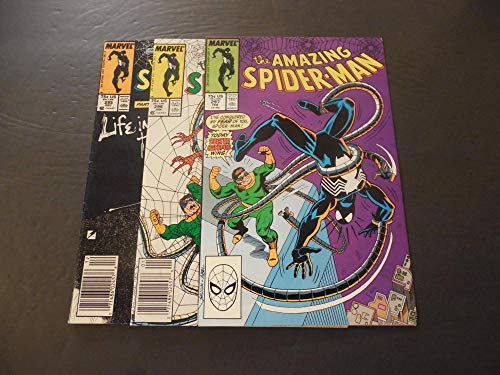 3 Iss Amazing Spider-Man #295-297 1987 Copper Age Marvel Comics
