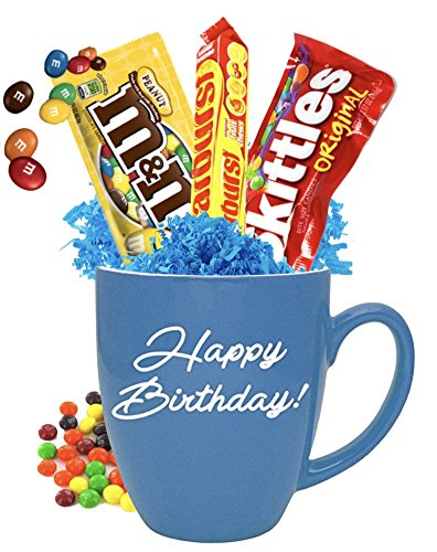 Amazon Happy Birthday Candy Gift Mug Friend College Gifts Mugs Everything Else