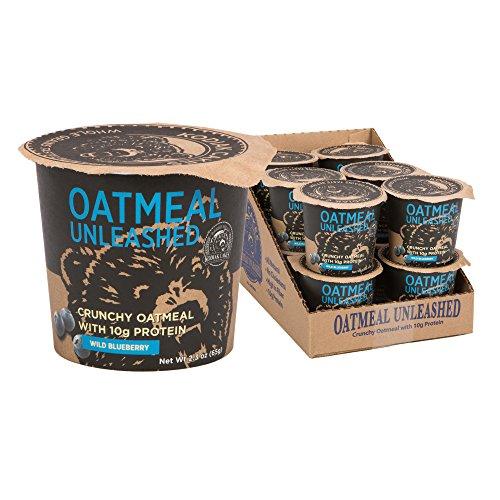 Kodiak Cakes Oatmeal Unleashed, Wild Blueberry, 2.3 Ounce (Pack of 12)