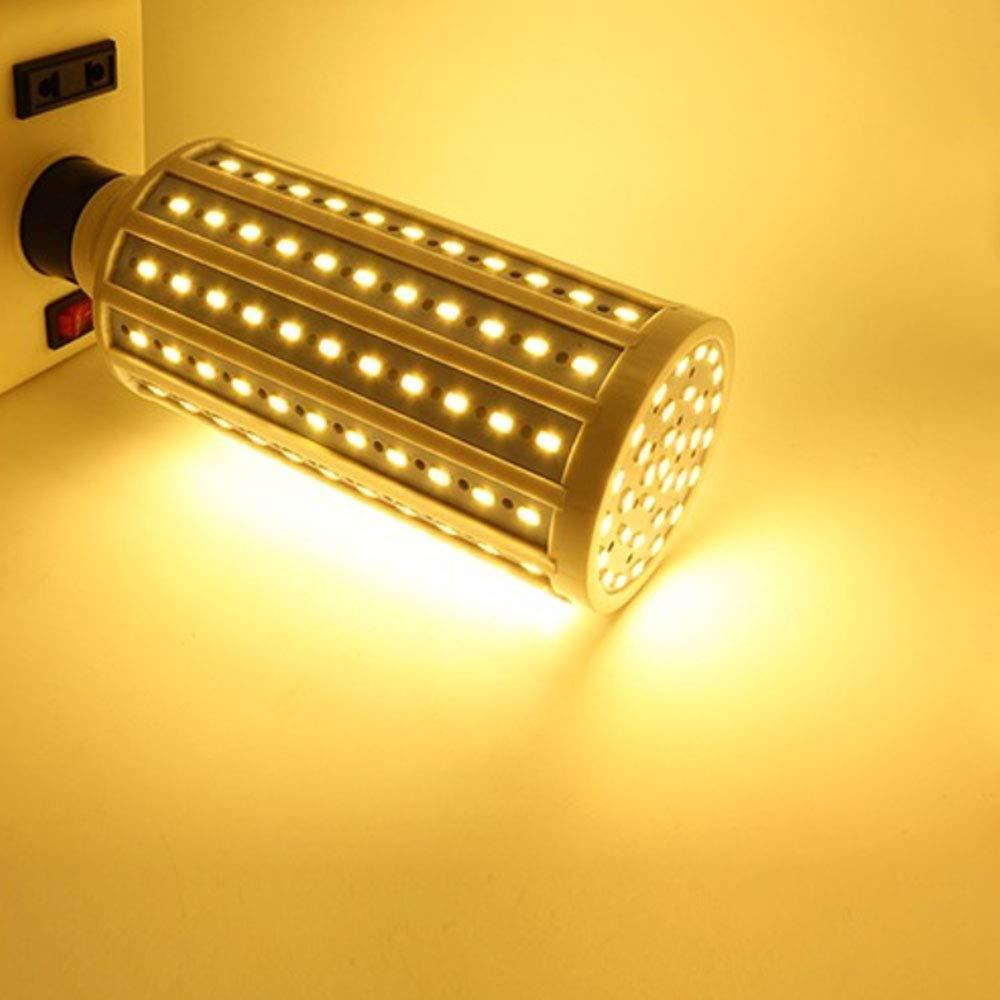 -300W Equivalent 3000K Warm White E26//E27 Base LED Garage Light for Indoor Outdoor Large Area Garage Factory Warehouse High Bay,AC85-265V KIMROO 40W LED Corn Light Bulbs 3-Pack Warm White