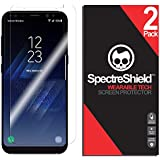 Spectre Shield for Samsung Galaxy S8 Plus Screen Protector (2-Pack) Accessory Screen Protector for Samsung Galaxy S8 Plus Case Friendly Full Coverage Clear Film