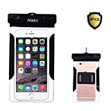 #1 TOP RATED Waterproof Case, Atelic® CellPhone Dry Bag for Apple iPhone 6S 6,6S Plus, SE 5S 7, Galaxy S7, S6 Note 5 4, HTC LG Sony Nokia Motorola up to 6.0""